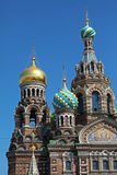 L'église du sauveur sur le sang renversé, St Petersbourg Photographie stock libre de droits