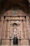L'église du St Francis d'Assisi de vieux Goa Goa Velha photographie stock