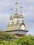 L'église en bois de St George du siècle XVII, Kolomenskoye, Moscou Images libres de droits
