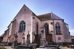 L'église gothique médiévale images libres de droits