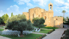 L'église médiévale de la rue John dans Byblos, Liban Image stock