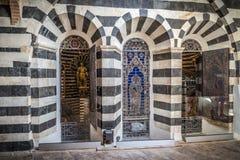 L'église médiévale de Sienne en Toscane Italie photos stock