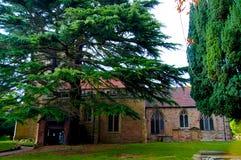 L'église médiévale en Angleterre photographie stock