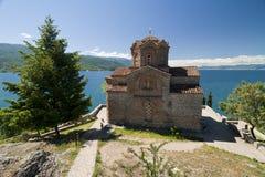 L'église Ohrid de St John Photographie stock