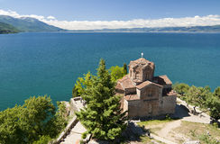 L'église Ohrid de St John Photos stock