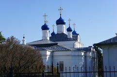 L'église orthodoxe dans Klin dans la région de Moscou Photos libres de droits