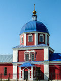 L'église orthodoxe dans la ville russe de la région de Meshchovsk Kaluga Photos libres de droits