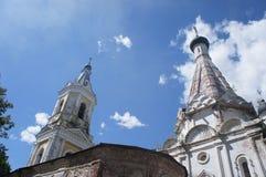 L'église orthodoxe inactive Photo stock