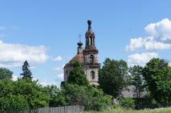 L'église orthodoxe inactive Image libre de droits