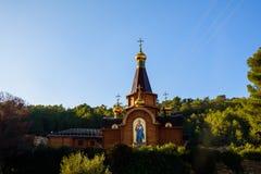 L'église orthodoxe russe à Altea Photos stock