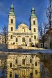 L'église paroissiale de centre-ville à Budapest, Hongrie Images libres de droits
