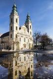 L'église paroissiale de centre-ville à Budapest, Hongrie Photos libres de droits