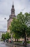 L'église principale de la capitale norvégienne photographie stock libre de droits