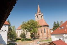 L'église reformée de Targu Mures Photos libres de droits