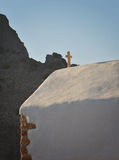 L'église sur l'île de Rhodes Photos stock