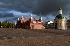L'église sur la place, Moscou Russie photos libres de droits