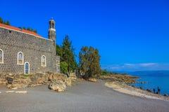 L'église Tabgha Photos stock