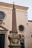 L'éléphant de Bernini, Rome photo libre de droits
