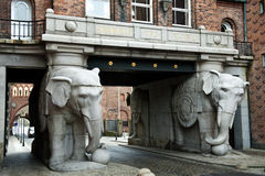 L'éléphant de Carlsberg Photos libres de droits