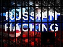 L'élection entaillant l'espionnage russe attaque la 2d illustration illustration de vecteur