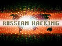 L'élection entaillant l'espionnage russe attaque la 2d illustration illustration libre de droits