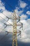 L'électricité à haute tension 3D Image libre de droits