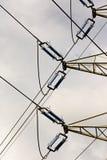 L'électricité à haute tension 3D Photo libre de droits