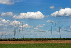 L'électricité 08 Photo stock