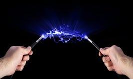 L'électricité Images libres de droits