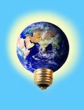 L'électricité d'ampoule Photographie stock