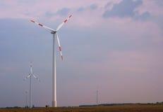 L'électricité de vent Photographie stock