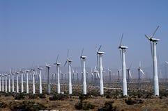 L'électricité de vent Image libre de droits