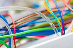 L'électricité et l'hydraulique photo stock