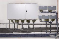 L'électricité guidée Photo stock