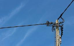 L'électricité Polonais Photo stock