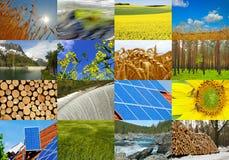 L'électricité verte Photos stock