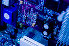 l'électronique Images stock