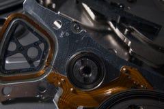 L'électronique de chute de disque dur Photo libre de droits