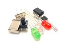 l'électronique de composants photos stock