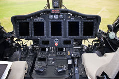 L'électronique de Sikorsky S-92 Photo libre de droits