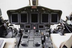 L'électronique de Sikorsky S-92 Image libre de droits