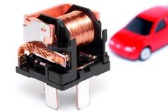 L'électronique de véhicule. Photo stock