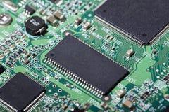 Panneau électronique d'unité de disque dur Photos libres de droits
