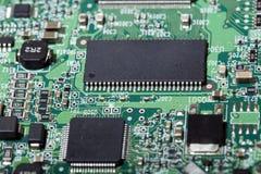 Panneau électronique d'unité de disque dur Images stock