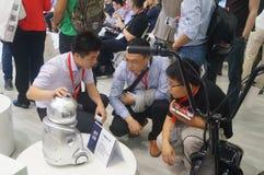 L'électronique grand public de la Chine Shenzhen et les appareils ménagers stigmatisent l'exposition Photos libres de droits
