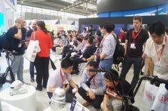 L'électronique grand public de la Chine Shenzhen et les appareils ménagers stigmatisent l'exposition Photos stock