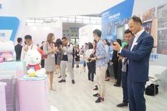 L'électronique grand public de la Chine Shenzhen et les appareils ménagers stigmatisent l'exposition Photographie stock