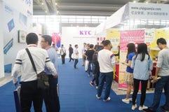 L'électronique grand public de la Chine Shenzhen et les appareils ménagers stigmatisent l'exposition Images stock