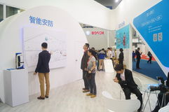 L'électronique grand public de la Chine Shenzhen et les appareils ménagers stigmatisent l'exposition Image libre de droits