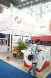 L'électronique grand public de la Chine Shenzhen et les appareils ménagers stigmatisent l'exposition Image stock